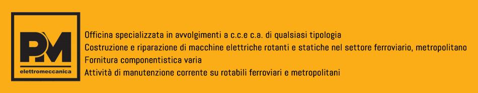 Elettromeccanica PM